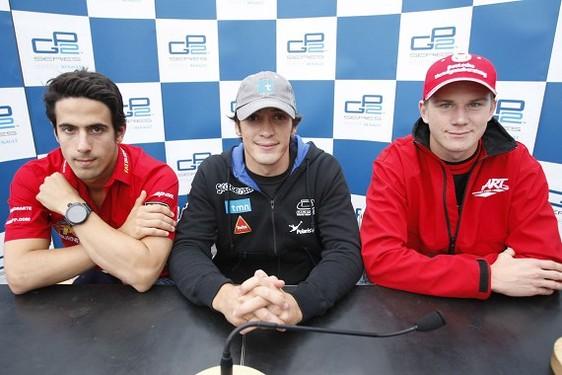 GP2 Spa Course 1 : Parente résiste à Hulkenberg