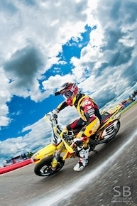 Supermotard, championnat de France 2011, Livernon : interview de Boris Chambon