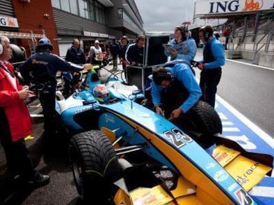GP2 - Nelson Panciatici: Une première manche encourageante à SPA