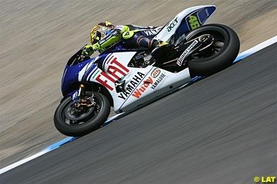 Moto GP - République Tchèque D.1: Rossi est ravi