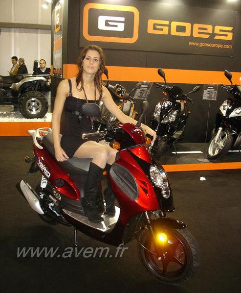 Salon de Milan 2008 : un scooter hybride signé GOES Europe