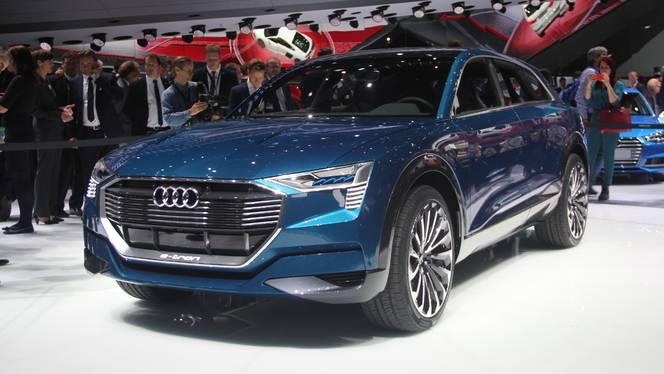 Audi e-tron Quattro Concept : démonstration - En direct du salon de Francfort 2015