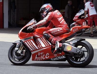 Moto GP - Ducati: La GP9 ne sera pas des tests de Brno