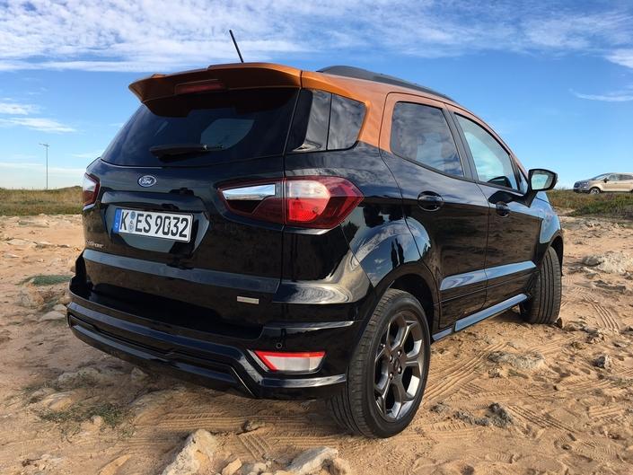 Ford Ecosport restylé - Les premières images de l'essai en live