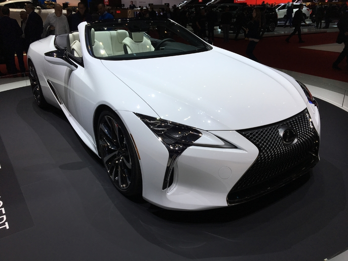 Lexus LC-C Concept : beauté fatale - en direct du Salon de Genève 2019