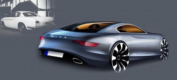 [Présentation] Le design par Volvo S7-design-Volvo-P1800-50eme-anniversaire-un-dessin-pas-un-dessein-248856