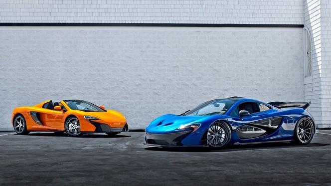 McLaren, il y aura un modèle entre la 650S et la P1