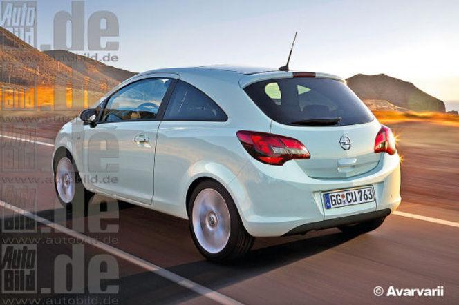 Future Opel Corsa : comme ça ?