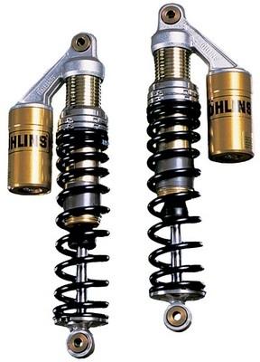 Ohlins propose des bi-amortisseurs pour votre moto.