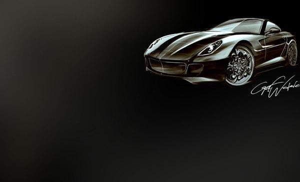 Ferrari 599 Gtb Fiorano Comte Noir By Graf Weckerle. Graf Weckerle Comte Noir,