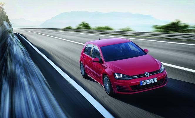 Toutes les nouveautés de Genève 2013 - Volkswagen Golf GTD : diesel puissant
