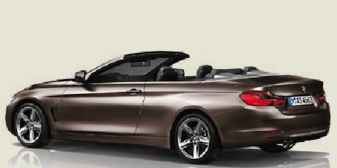 Surprise, la future BMW Série 4 cabriolet en fuite!