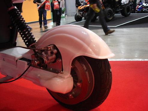 Un quadricycle électrique à l'italienne : le Ducati Energia Free Duck