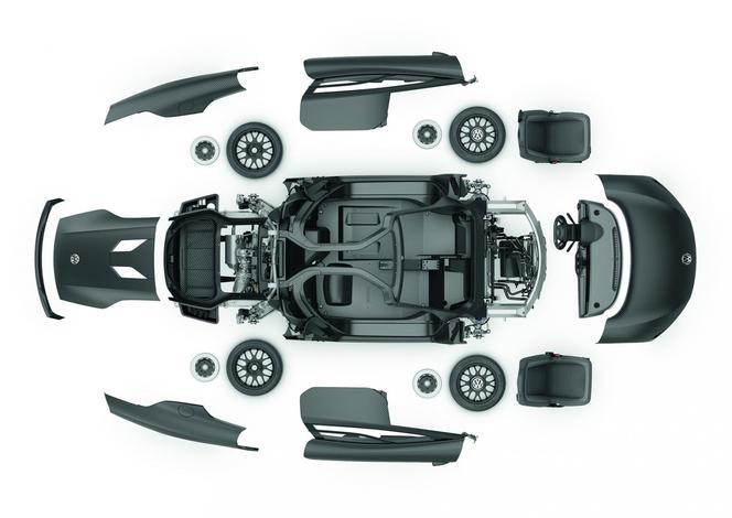 Toutes les nouveautés de Genève 2013 - Volkswagen XL1: révolutionnaire