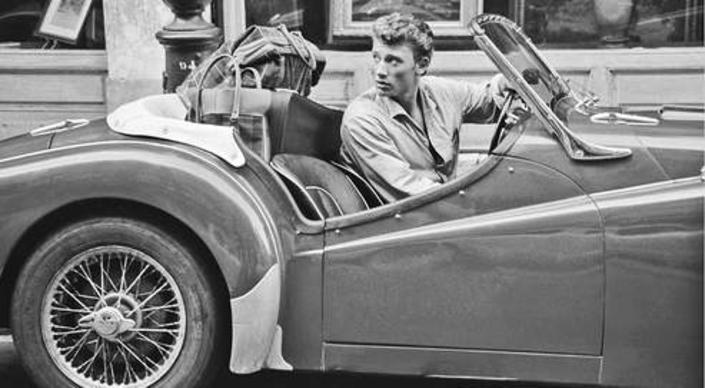Johnny Hallyday, une carrière riche en voitures