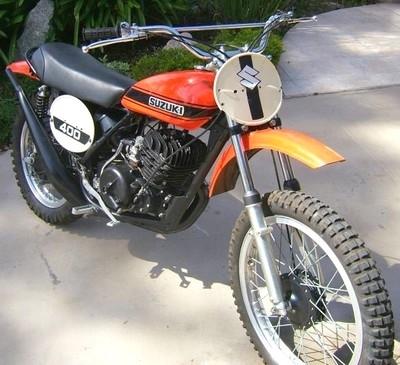 SUZUKI 400 TM 1971: belle et rare