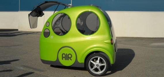 Une auto à air comprimé testée par Air France en 2009