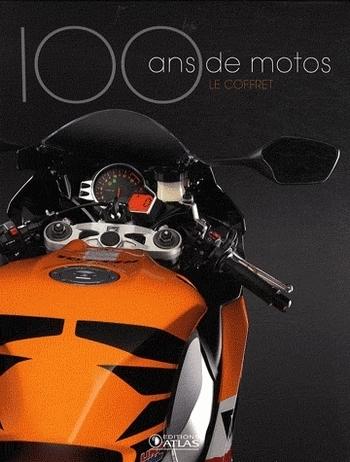 Idée cadeau - Livre : Coffret 100 ans de moto en 2 volumes, L'âge d'or (1900-1945) et Les temps modernes (1945 à nos jours)