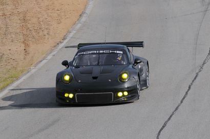 La nouvelle Porsche 911 GT3 RSR se montre