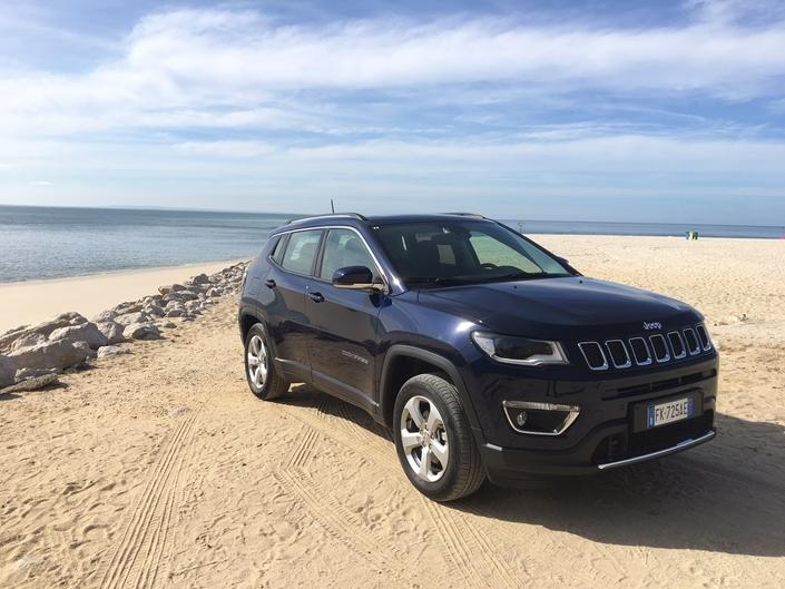 Jeep Compass - les premières images de l'essai en live