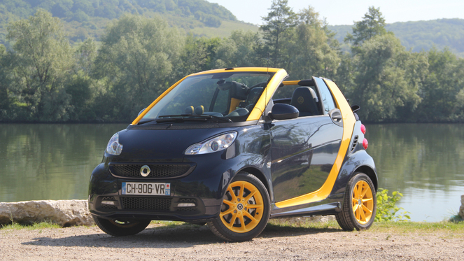 essai smart fortwo mhd cabriolet cab 39 de poche. Black Bedroom Furniture Sets. Home Design Ideas