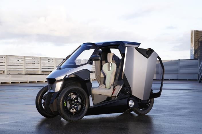PSA dévoile un engin qui pourrait être le concurrent du Renault Twizy