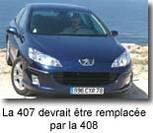 Peugeot pense déjà à la 408