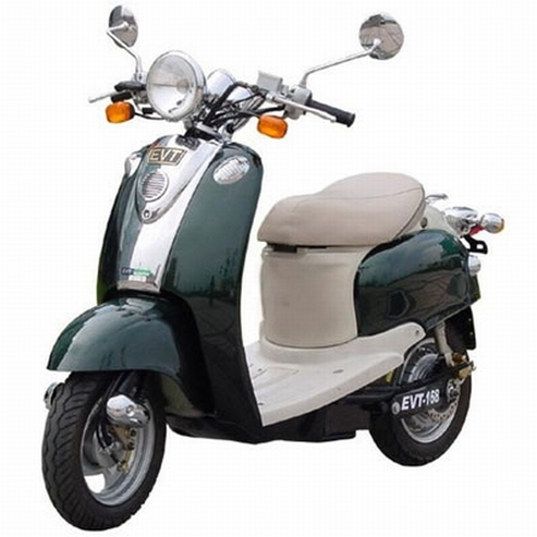 Les scooters électriques EVT sont en promotion