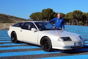Gerard et son Alpine GTA