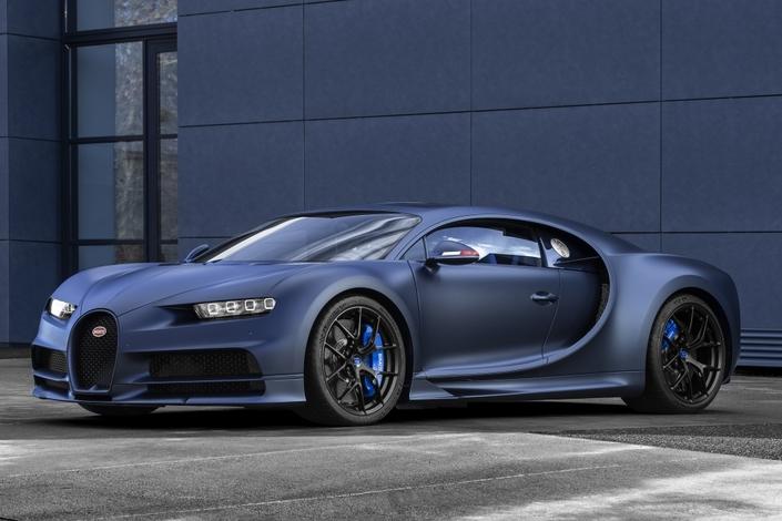 Bugatti vient de dévoiler cette série limitée de la Chiron pour fêter ses 110 ans.