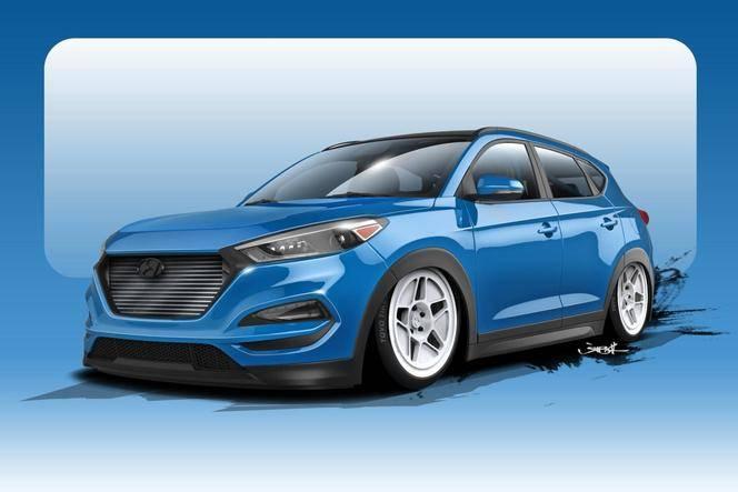 Hyundai : un teaser pour le Tucson de 700 ch qui sera au SEMA Show