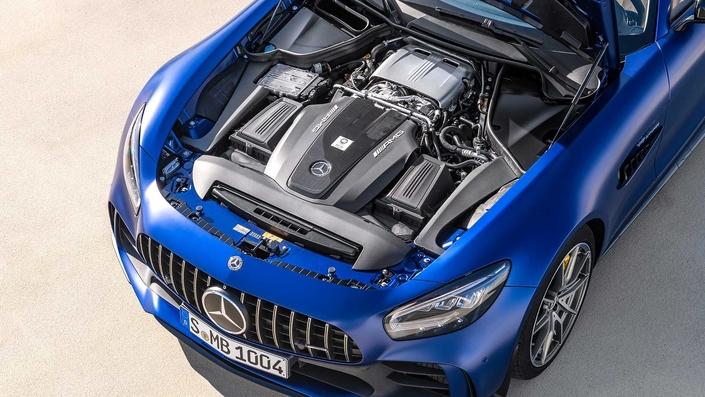 Mercedes AMG GT R Roadster:limité - En direct du Salon de Genève 2019