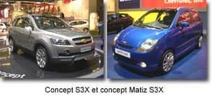 La Chevrolet Matiz remplace la Daewoo Matiz au printemps 2005