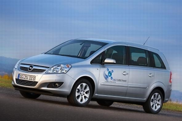 Salon de Bologne 2008 : l'Opel Zafira 1.6 GNV Turbo