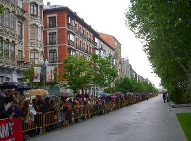 Formule 3 - Panciatici: En représentation devant 17 000 personnes dans les rues de Valladolid