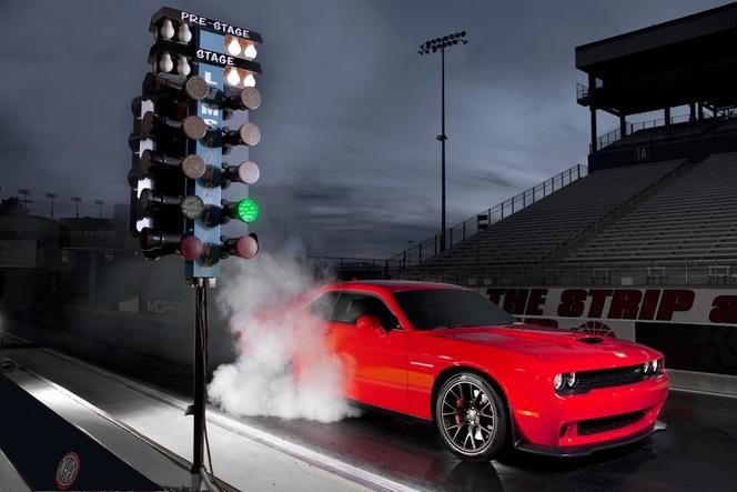 Dodge présente la très méchante Challenger SRT Hellcat