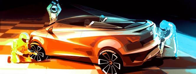 """Seat Ibiza Cupster concept: 180 ch cheveux """"très au vent"""""""