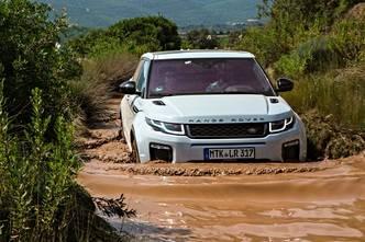Range Rover Evoque restylé : en avant-première, les photos de l'essai