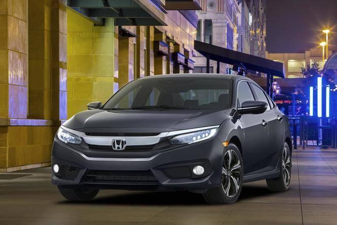 La nouvelle Honda Civic arrivera début 2017 en Europe