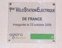 Une vélostation électrique au sein de la technopole Sophia-Antipolis