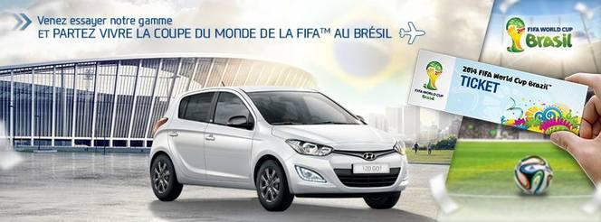 Hyundai veut vous envoyer au Brésil pour le Mondial de football