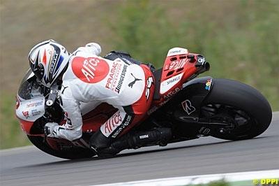 Moto GP - République Tchèque: La guigne pour Guintoli !