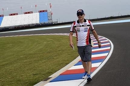 Moto GP - Grand Prix d'Argentine: Stefan Bradl fait les présentations