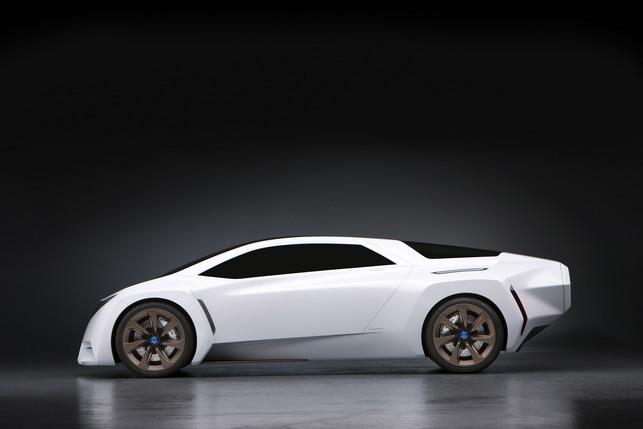 Salon de Los Angeles 2008 : le Concept Honda FC Sport Fuel-Cell
