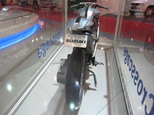 Moto à l'hydrogène : la Suzuki Crosscage