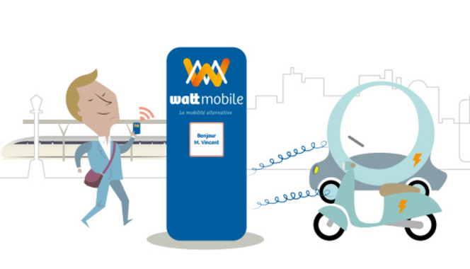 Wattmobile développe son offre de véhicules électriques en libre-service dans les gares