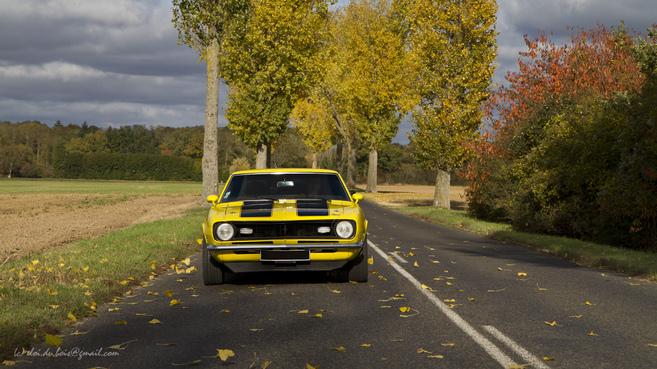 Essai rétro - Chevrolet Camaro : cruising in a '68 Camaro...
