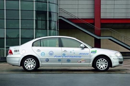Salon de Los Angeles 2008 : la Volkswagen Passat Lingyu FCV