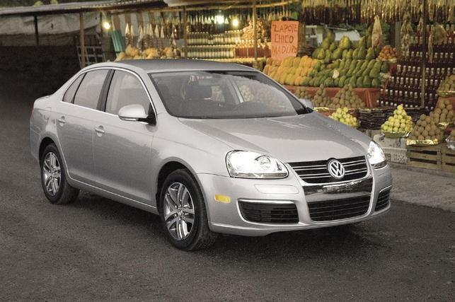 Salon de Los Angeles : la Volkswagen Jetta TDI élue voiture écologique de l'année