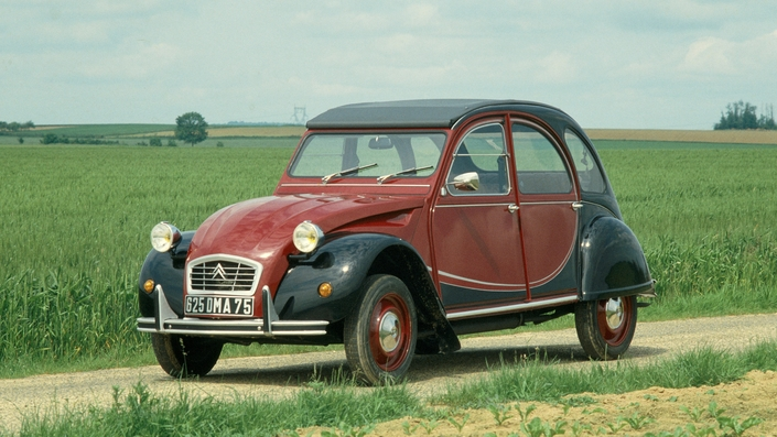 citroen 2cv collection